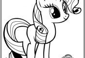 coloring my little pony rarity - Google Search