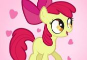 how to draw apple bloom, apple bloom, my little pony Apple, Bloom, draw, Pony #c...