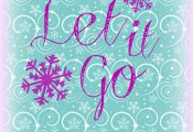 let it go Free Frozen Printable