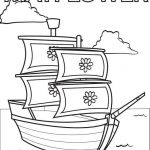 mayflower coloring pages 02