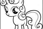 mlp print pages | My Little Pony Sweetie Belle Coloring Pages