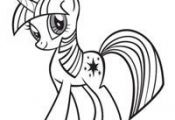 my little pony ausmalbild 06  ausmalbild, Pony #cartoon #coloring #pages