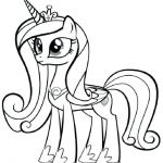 my little pony coloring pages cadence