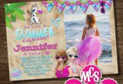 ▼ ▼READ HOW TO ORDER LIST BELOW▼ ▼ Frozen PRINTABLE Invitation PRINTABLE...