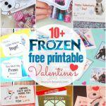 10+ FREE Disney FROZEN Printable Valentines