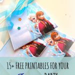 15 free printables for your Frozen party! (round-up)