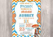 Frozen Birthday Invitation  Olaf Birthday by StyleswithCharm