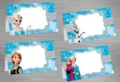 INSTANT DOWNLOAD Frozen Food Tent Label, Frozen Party Package, Frozen Printable ...