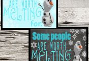 2 Disneys Frozen Printables Disney Frozen Birthday Olaf Frozen Wall Art Disney F...