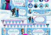 50% OFF SALE Disney Frozen Invitation Party by WhiteFoxGraphics