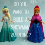 Adorable Disney's FROZEN Printable Valentines Day Cards - As The Bunny Hops #Fro...