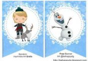 Be happy: Kit imprimible Frozen Gratis