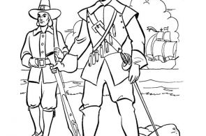 Best Printable Mayflower Coloring Sheet – coloringpagesgrea…  Coloring, colo...