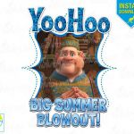 Big Summer Blowout Oaken Frozen Printable Iron On Transfer or Use as Clip Art - ...