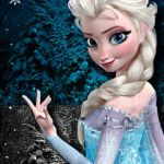 Cubeecraft of Elsa from Disney's Animated Movie Frozen | SKGaleana