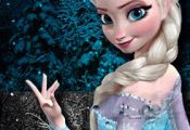 Cubeecraft of Elsa from Disney's Animated Movie Frozen | SKGaleana