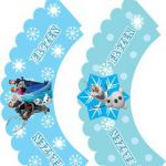 Cupcake Wrappers, Frozen, Favor Box - Free Printable Ideas from Family Shoppingb...