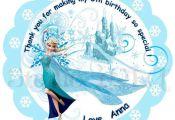 Custom Frozen Printable Tags-Toppers Elsa Frozen by StudioIdea  Custom, Elsa, Fr...