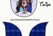 Cute Frozen Party: Free Printable Invitations.