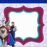 Cute Frozen Party: Free Printable Invitations. Check out the whole set! :)
