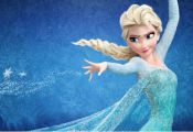 DIY Diamond Painting - Elsa from Frozen 9(Round)