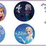 DIY Frozen Printable Cupcake toppers by ARRTZY on Etsy, $4.00  ARRTZY, Cupcake, ...