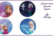 DIY Frozen Printable Cupcake toppers by ARRTZY on Etsy, $4.00  ARRTZY, Cupcake, ...