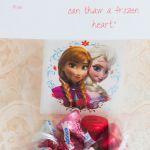 DIY Frozen Valentine Cards and Free Frozen Printable