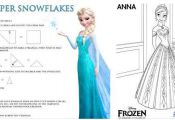 Disney's FROZEN – Printable Activity Sheets