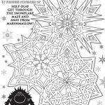 Disney�s Frozen Printables, Coloring Pages, and Storybook App | crazyadventure...