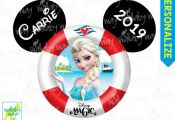 Disney Cruise ELSA Frozen Printable Disney Iron On Transfer or as Clip Art DIY D...