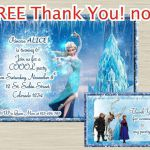 Disney FROZEN invitation Frozen birthday Invitation by UNIQcards, $7.90