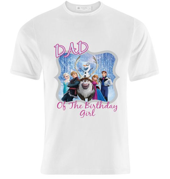 Disney-Frozen-Birthday-T-Shirt-Printable-Transfer-Dad-Of-The-Birthday-Girl Disney Frozen Birthday T-Shirt - Printable Transfer - Dad Of The Birthday Girl -... Cartoon