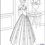 Disney Frozen Coloring Sheets – Elsa, Anna and Kristoff