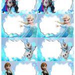 Disney Frozen Editable Label | Etsy