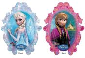 "Disney Frozen Elsa & Anna 31"" Jumbo Balloon Birthday Party Favor Supplies"