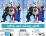 Disney Frozen: Free Activity and Coloring Sheets - Create-Celebrate-Explore