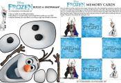 Disney Frozen: Free Movie Printables - Recess