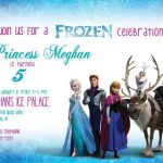 Disney Frozen Invitation PRINTABLE with FREE Thank You Card / Anna, Elsa, Olaf
