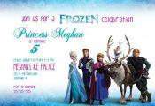 Disney Frozen Invitation PRINTABLE with FREE Thank You Card / Anna, Elsa, Olaf