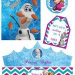 Disney Frozen PRINTABLE Party Kit, Party Pack / Anna, Elsa, Olaf