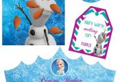 Disney Frozen PRINTABLE Party Kit, Party Pack / Anna, Elsa, Olaf