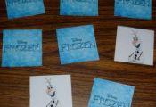Disney Frozen Printable Activity Sheets