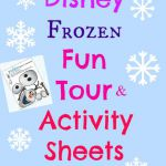 Disney Frozen Printable Activity sheets for kids.