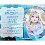 Disney Frozen Printable Birthday Party Invitation Princess Elsa