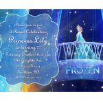Disney Frozen Printable Birthday Party Invitation Princess Elsa on Etsy, $7.00