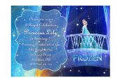 Disney Frozen Printable Birthday Party Invitation Princess Elsa on Etsy, $7.00