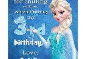 Disney Frozen Printable Birthday Party Thank You by squigglestudio, $7.00