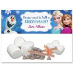 Disney Frozen Printable Goody Favor Bag Wrapper Customized Elsa Anna Olaf - Do Y...