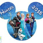 Disney Frozen Printable Iron On Transfer or Use as Clip Art - DIY Disney Frozen ...